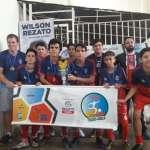 Santos Anjos faturou a categoria sub-15