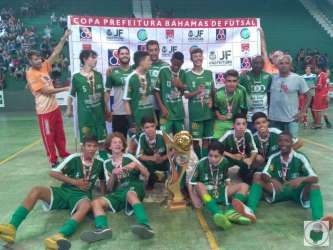 Futsal: Sport leva caneco infantil!