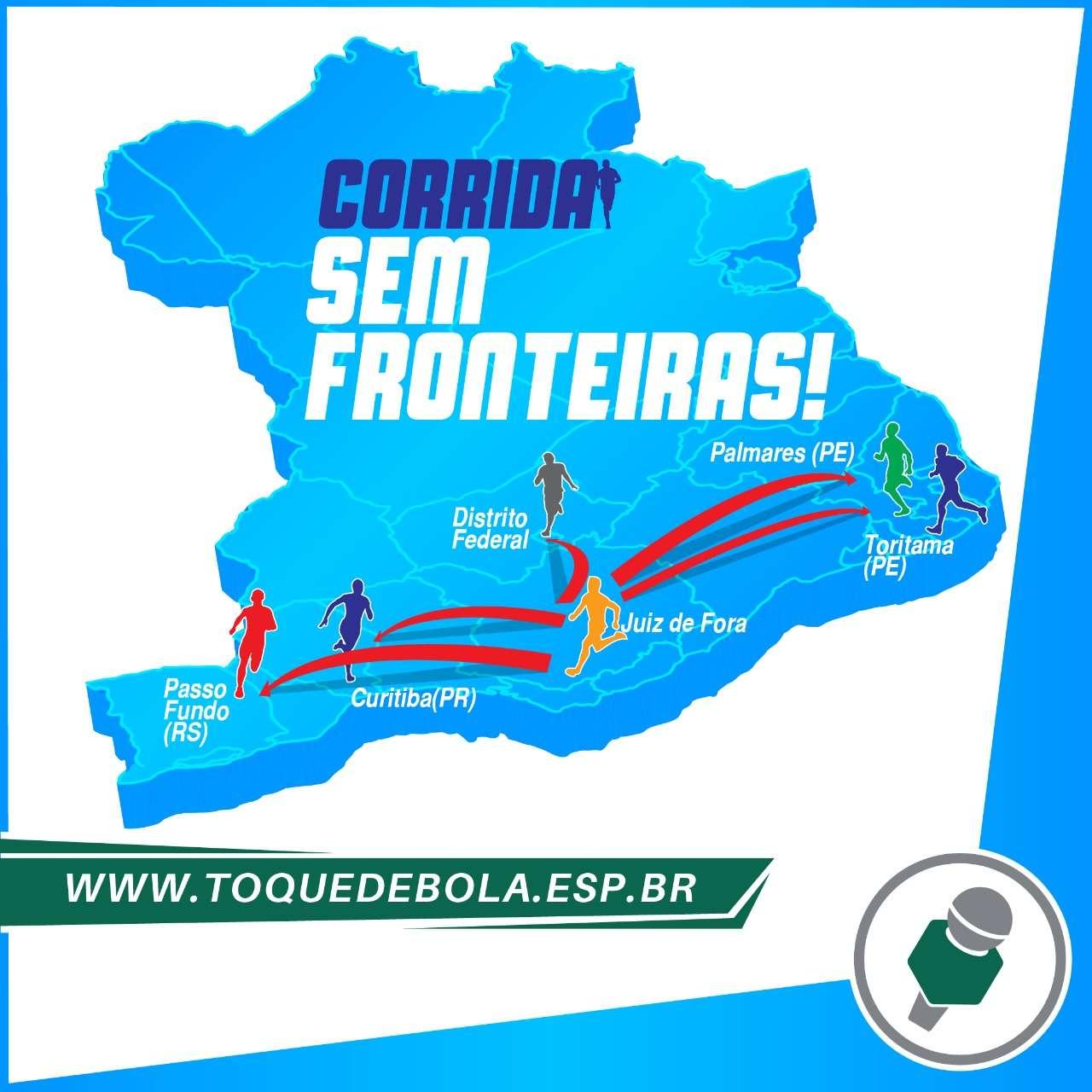 Fronteiras abertas: Corrida Virtual da SEL, de Pernambuco ao Rio Grande do Sul