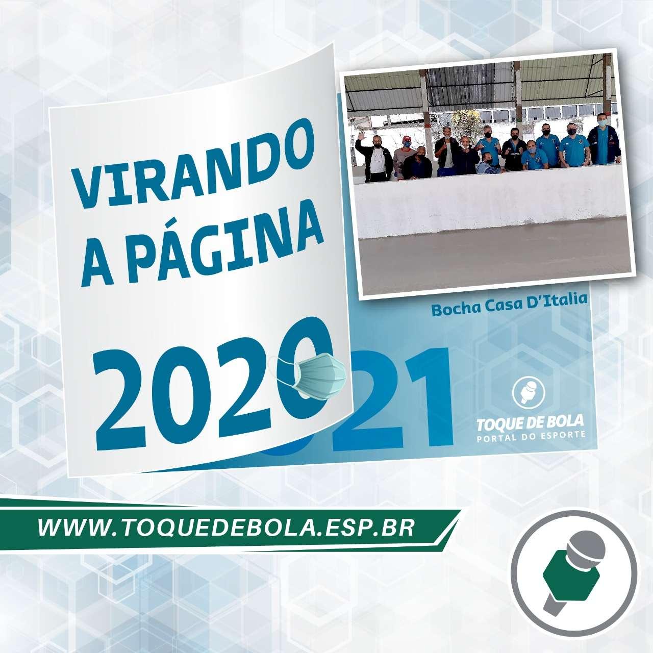 Bocha Casa D'Italia: após reinvenção, viabilizar canchas em 2021!