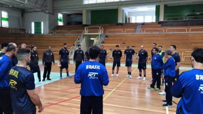 Com Thiagus, Brasil adia ida para o Mundial de Handebol!