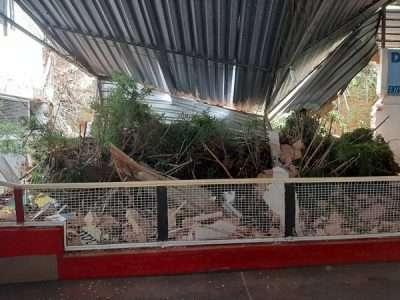 Chuvas: Bola Show é danificado e parcialmente interditado!