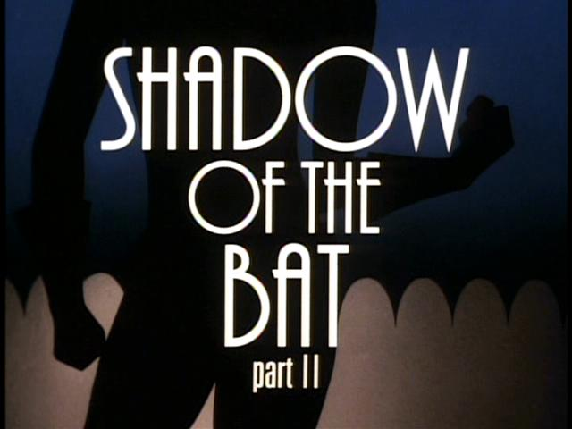 Batman: The Animated Series Rewatch: Shadow of the Bat 1 & 2