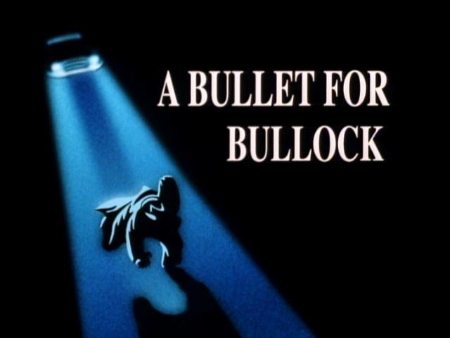 Batman the Animated Series Bulled for Bullock