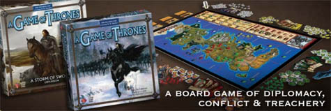 A Game of Thrones—The Board Game