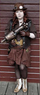 Steampunk archetype costume - Hunter/Fighter