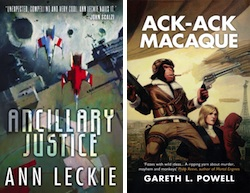BSFA Best Novel 2014 Ancillary Justice Ann Leckie Ack-Ack Macaque Gareth Powell
