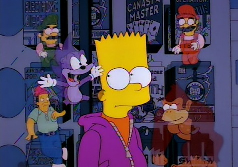 Simpsons Bart Bonestorm Sonic Video Games