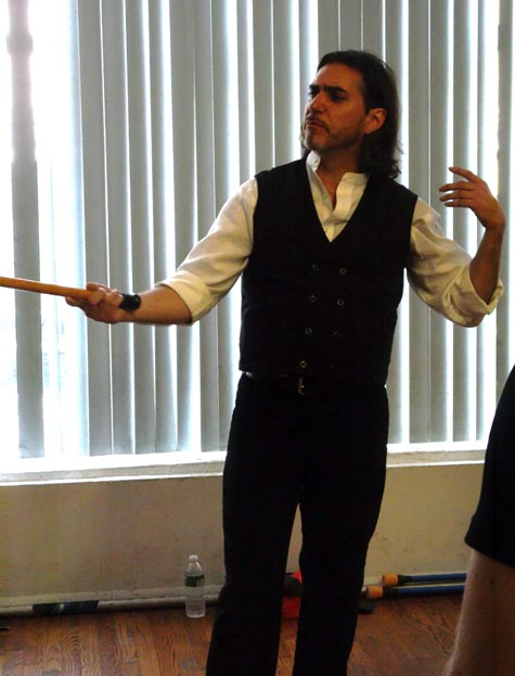 Mark Donnelly, bartitsu instructor