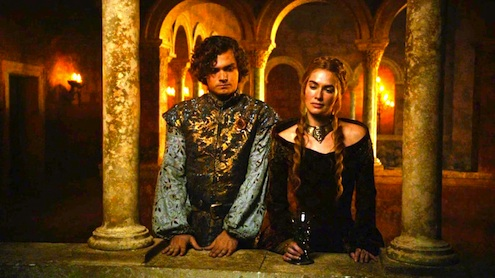Loras Tyrell Cersei Lannister Game of Thrones