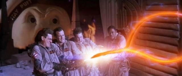 Ghostbusters cross the streams