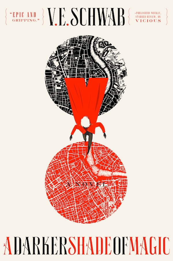 V.E. Schwab A Darker Shade of Magic cover Will Staehle