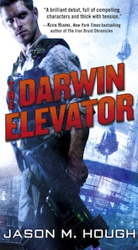NaNoWriMo success stories The Darwin Elevator Jason M. Hough