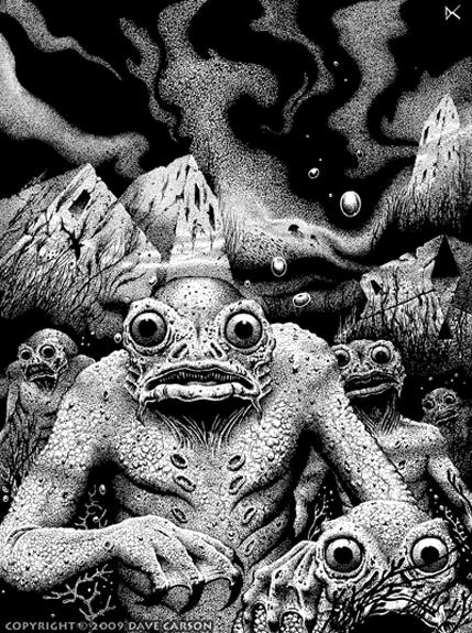 Dave Carson, Lovecraft