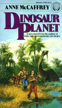 10 Essential Dinosaur Science Fiction Books Dinosaur Planet Anne McCaffrey