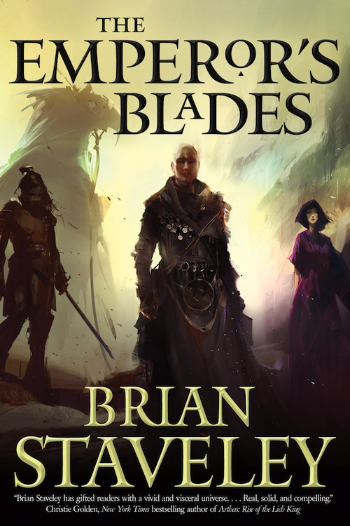 The Emperor's Blades Brian Staveley Chronicle of the Unhewn Throne