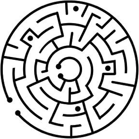 Freedom Maze tattoo