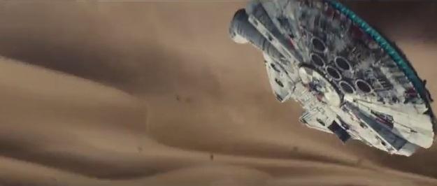The Falcon totally got a new rectangle radar dish
