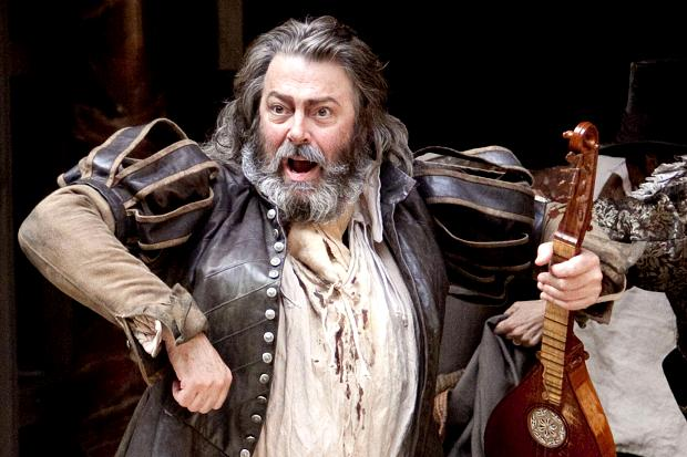 Roger Allam's clowning Falstaff is much harder to say goodbye to