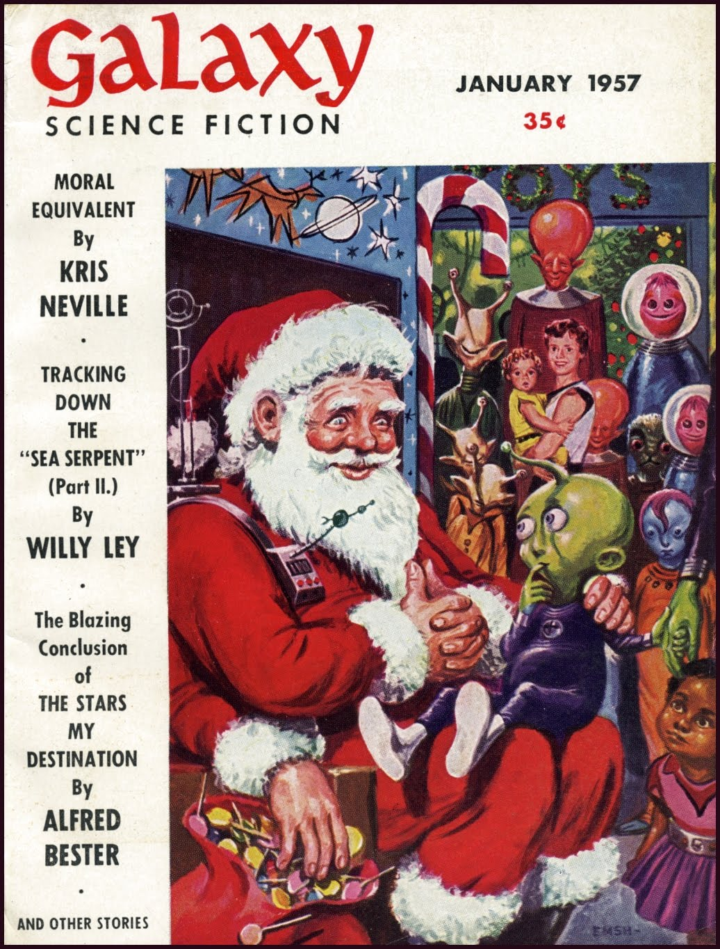 Changing Depictions Of Santa Claus In Science Fiction