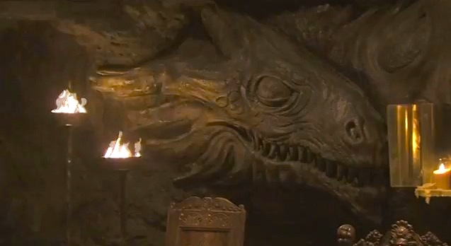 Dragonstone from Game of Thrones season 2