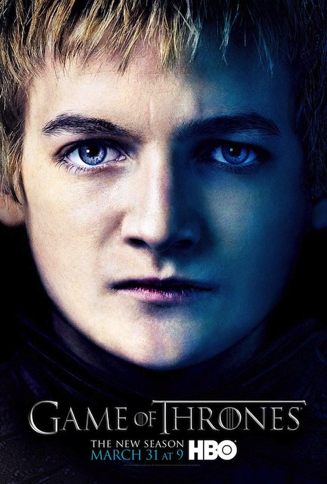Game of Thrones season 3 character posters Joffrey