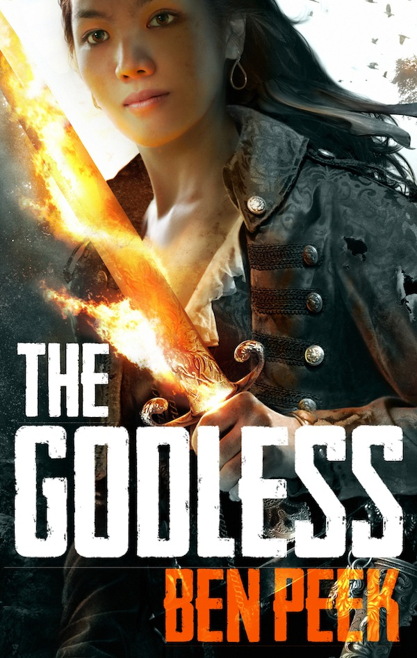Ben Peek The Godless UK Cover