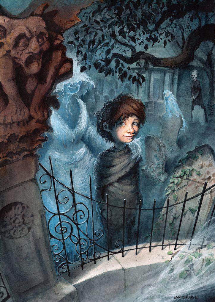 Scott Brundage, for Neil Gaiman's Graveyard Book.