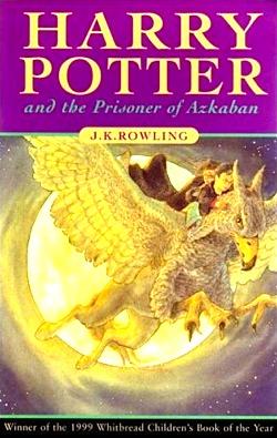 Harry Potter and the Prisoner of Azkaban UK cover