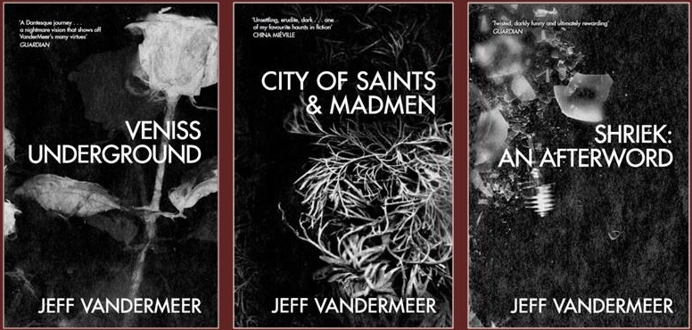 Jeff VanderMeer's UK reissues
