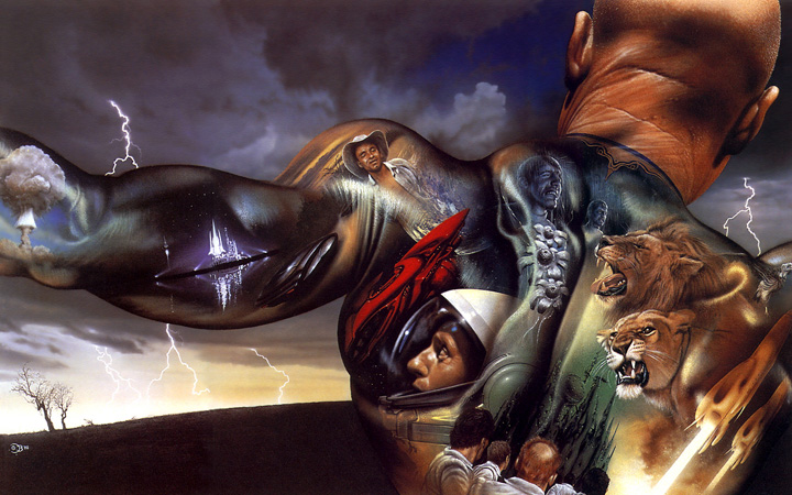 Jim Burns and The Illustrated Man.