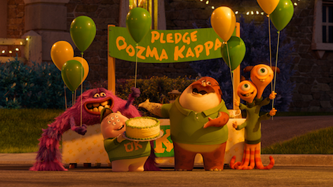Monsters University Oozma Kappa Fraternity