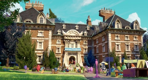 Monsters University Campus
