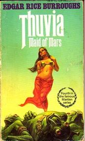Thuvia: Maid of Mars by Edgar Rice Burroughs