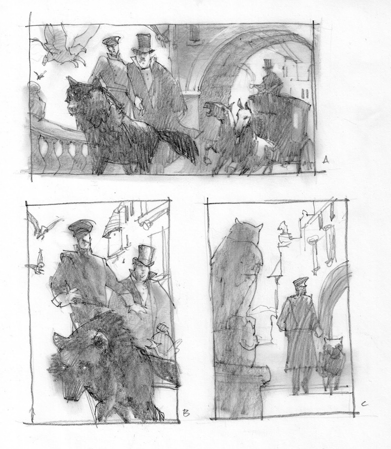 Behind the Scenes: Creating the Art for a New Swanwick Story Series