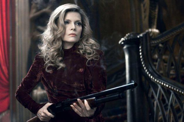 Michelle Pfeiffer as Elzabeth Collins (with a shotgun)