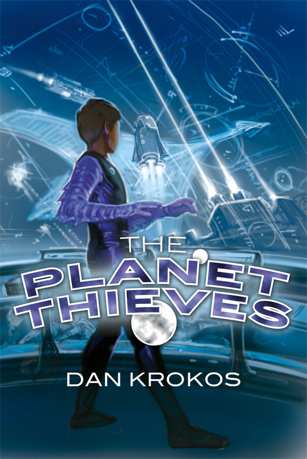 Cover and Illustration Reveal for New Middle Grade SF Novel The Planet Thieves