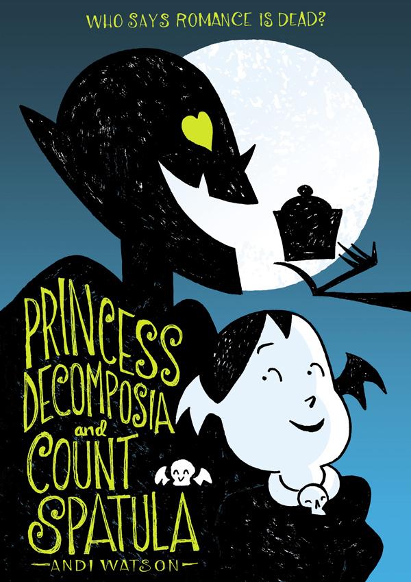 Princess Decomposia Andi Watson cover reveal