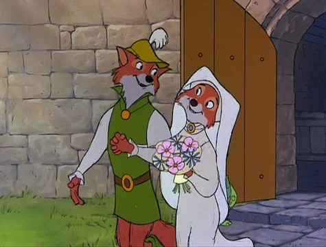 Disney Robin Hood Maid Marian Wedding