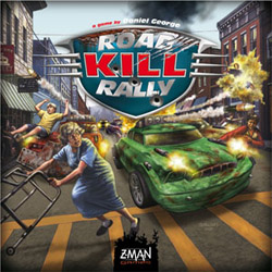 Road Kill Rally table top game