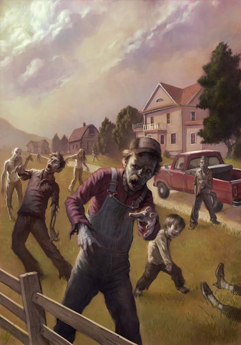 Favorite Zombie Art A Gallery Tor Com
