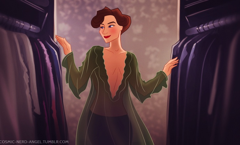 Sherlock Disney storybook A Scandal in Belgravia
