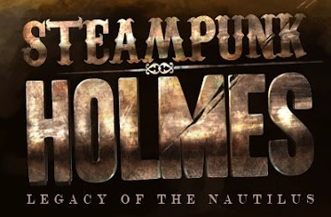 Logo for Steampunk Holmes, courtesy of Nobel Beast LLC