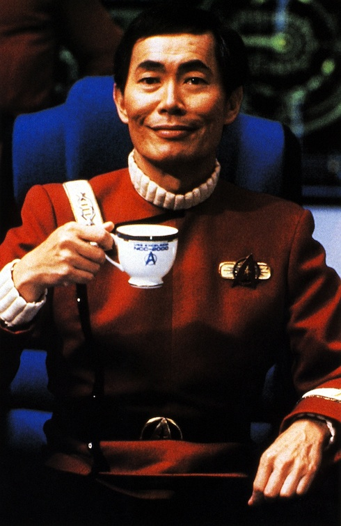 We like to think the Excelsior was a pretty chill place as long as Sulu got his morning tea