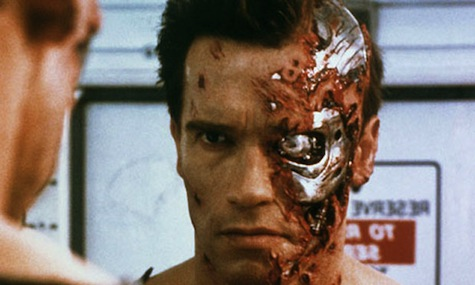 The Terminator Arnold Schwazenegger