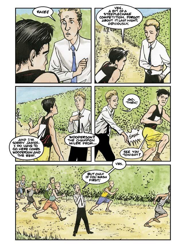 A Sneak Peek at Forthcoming Alan Turing Bio Comic The Imitation Game