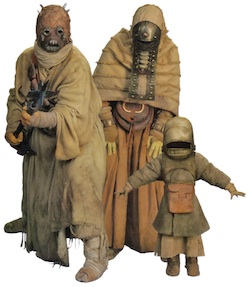 Star Wars Tusken Raider family
