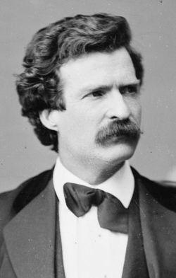 Mark Twain in your face!