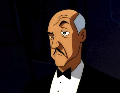 Batman the Animated Series, Alfred Pennyworth