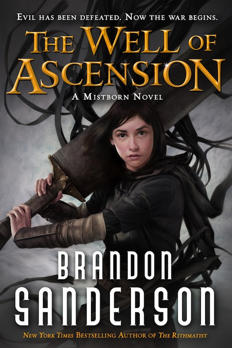 Brandon Sanderson Mistborn The Well of Ascension Cover Art